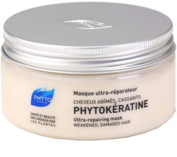 Phyto Phytokératine відновлююча маска для пошкодженого волосся