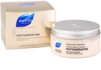 Phyto Phytokératine megújító maszk a károsult hajra