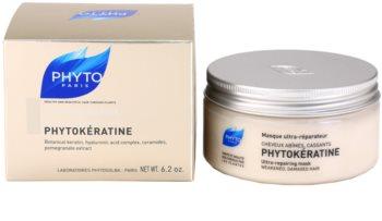 Phyto Phytokératine maschera ricostruttore per capelli rovinati