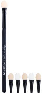 Pierre René Accessories aplicator pentru fardul de ochi + 5 bucati aplicatoare de schimb