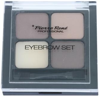 Pierre René Eyes Eyebrow paleta pre líčenie obočia