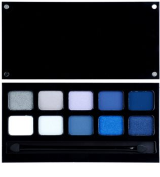 Pierre René Eyes Match System paleta očních stínů 10 barev