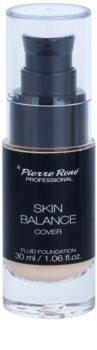 Pierre René Face Skin Balance voděodolný fluidní make-up pro dlouhotrvající efekt