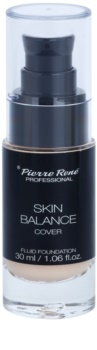 Pierre René Face Skin Balance vodeodolný fluidný make-up pre dlhotrvajúci efekt