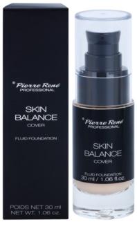 Pierre René Face Skin Balance vodoodporni fluidni tekoči puder za dolgoobstojen učinek