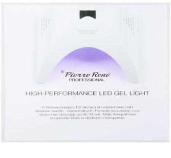 Pierre René Nails High-Performance LED lampa pro úpravu gelových nehtů 6 W
