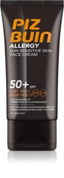 Piz Buin Allergy Face Sun Cream  SPF50+
