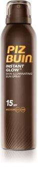 Piz Buin Instant Glow spray bronzeador iluminador SPF15
