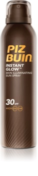 Piz Buin Instant Glow Sunscreen Spray with Shimmer SPF30