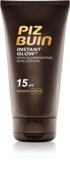Piz Buin Instant Glow posvetlitvena krema za sončenje SPF 15