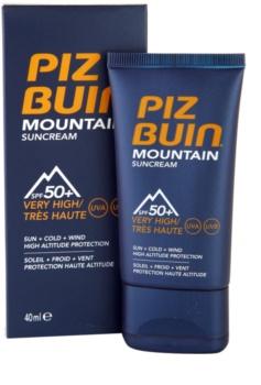 Piz Buin Mountain crème solaire visage SPF50+