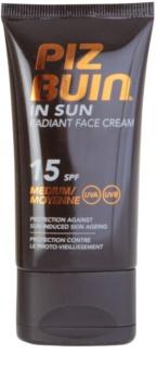 Piz Buin Radiant Face krem do twarzy SPF 15