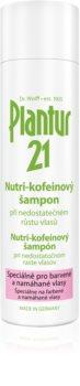 Plantur 21 nutri-kofeínový šampón pro farbené a poškodené vlasy