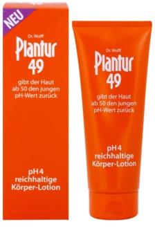 Plantur 49 výživné tělové mléko pro omlazení pokožky pH 4