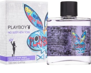 Playboy No Sleep New York lozione after shave per uomo 100 ml