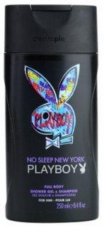 Playboy No Sleep New York Duschgel für Herren 250 ml
