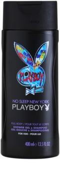 Playboy No Sleep New York Douchegel voor Mannen 400 ml