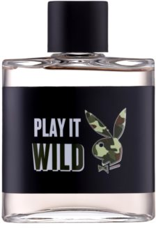 Playboy Play it Wild lozione after shave per uomo 100 ml