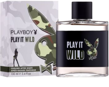 Playboy Play it Wild After Shave Lotion for Men 100 ml