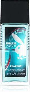 Playboy Endless Night deodorant s rozprašovačem pro muže 75 ml