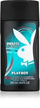 Playboy Endless Night gel de duche para homens 250 ml