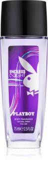 Playboy Endless Night Deo mit Zerstäuber für Damen 75 ml
