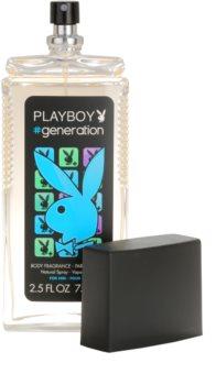 Playboy Generation deodorant s rozprašovačom pre mužov 75 ml