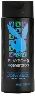 Playboy Generation Douchegel voor Mannen 400 ml