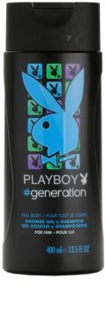 Playboy Generation gel douche pour homme 400 ml