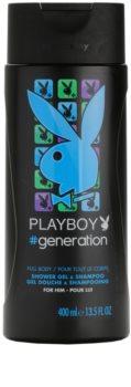 Playboy Generation tusfürdő férfiaknak 400 ml