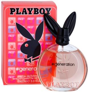 Playboy Generation woda toaletowa dla kobiet 90 ml