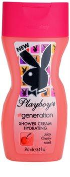 Playboy Generation cremă pentru duș pentru femei 250 ml