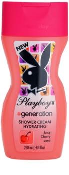 Playboy Generation Dusch Creme für Damen 250 ml