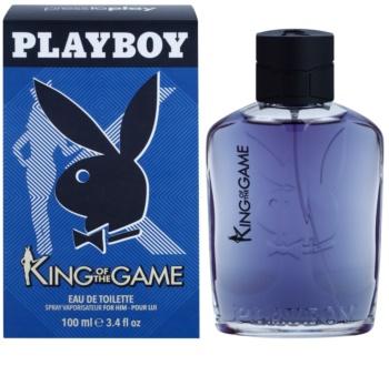 Playboy King Of The Game eau de toilette pentru barbati 100 ml