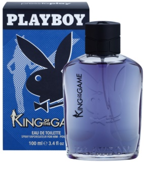 Playboy King Of The Game Eau de Toilette para homens 100 ml