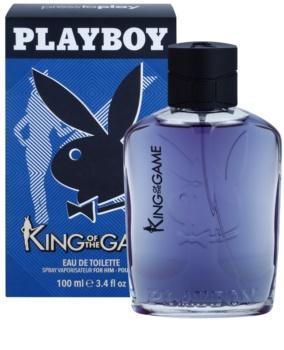 Playboy King Of The Game Eau de Toilette para homens 100 ml