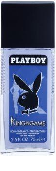 Playboy King Of The Game deodorant s rozprašovačem pro muže 75 ml