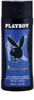Playboy King Of The Game sprchový gél pre mužov 400 ml
