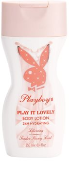 Playboy Play It Lovely lapte de corp pentru femei 250 ml