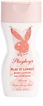 Playboy Play It Lovely leite corporal para mulheres 250 ml