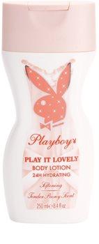 Playboy Play It Lovely tělové mléko pro ženy 250 ml
