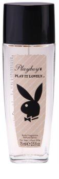 Playboy Play It Lovely desodorizante vaporizador para mulheres 75 ml