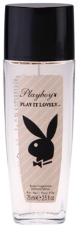 Playboy Play It Lovely dezodorant z atomizerem dla kobiet 75 ml