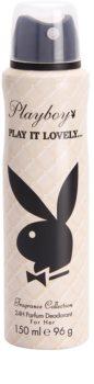 Playboy Play It Lovely deodorant Spray para mulheres 150 ml