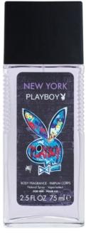 Playboy New York dezodorant v razpršilu za moške 75 ml
