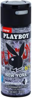 Playboy New York deospray per uomo 150 ml