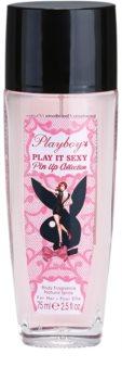 Playboy Play It Sexy Pin Up дезодорант з пульверизатором для жінок 75 мл