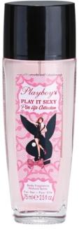 Playboy Play It Sexy Pin Up deodorant s rozprašovačem pro ženy 75 ml
