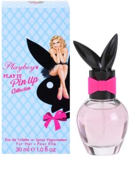 Playboy Play It Pin Up woda toaletowa dla kobiet 30 ml