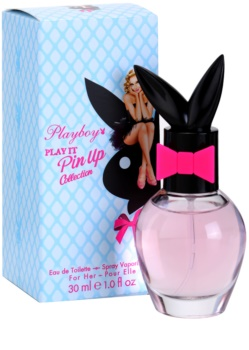 Playboy Play It Pin Up Eau de Toilette für Damen 30 ml